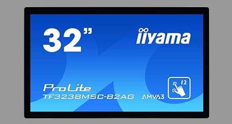 32 inch touchscreen rental iiyama