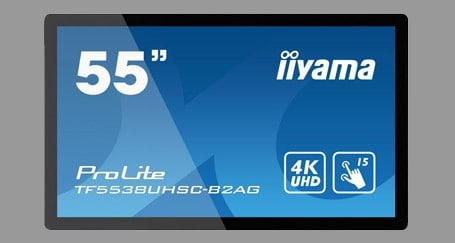 4k Touchscreen Rental Madrid iiyama