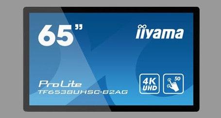 65 inch touchscreen 4k Iiyama