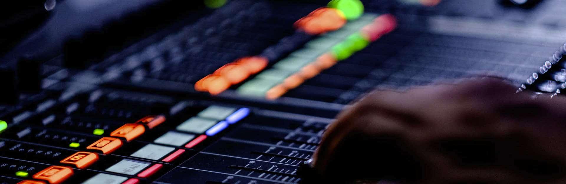 Audio console QL 5 Dugan Audio rental