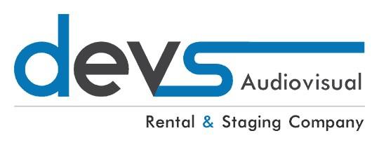 DEVS Av & Staging Rental Company