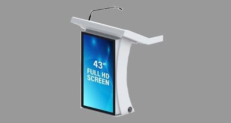 Digitalscreen Podium Rental