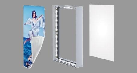 Light Box LED Fabric Rental