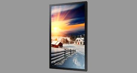 Outdoor TV Display rental Spain