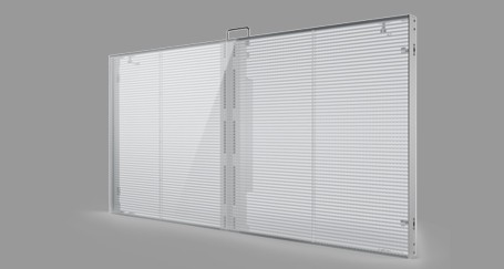 Transparent LED Screen Rental Barcelona Spain