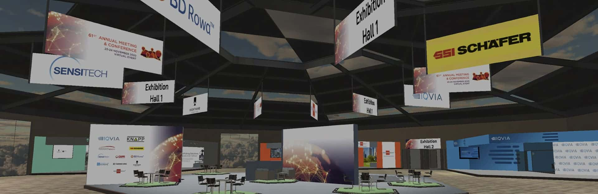 Virtual Online Exhibition platform